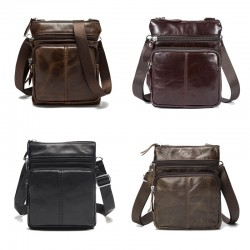 Genuine Leather Shoulder Crossbody Bag