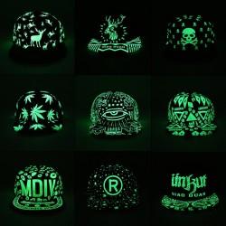 Fluorescent Glow In The Dark Baseball Cap Unisex