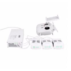 DJI Phantom 4 battery & transmitter 4 in 1 multi intelligent parallel charger