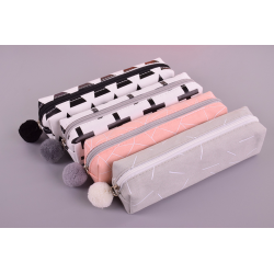 Canvas school pencil case