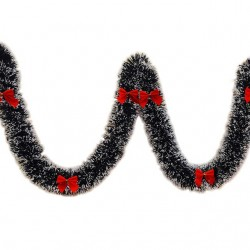 Christmas ribbon garland 2m