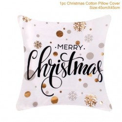 Christmas pillowcase / cushion cover - cotton 45 * 45 cm