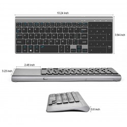 Wireless mini keyboard with touchpad - Air Mouse Android Box - Windows PC