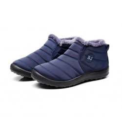 Men's anti-skid warm ankle boots waterproof
