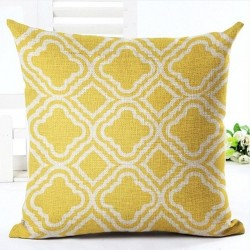 Geometric pillowcase cotton 45 * 45 cm