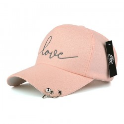 Love - Women's baseball snapback cap hat