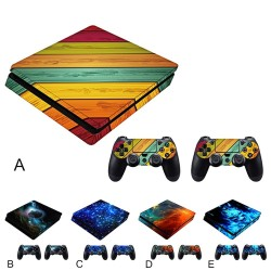 Playstation 4 Slim protection skin cover sticker set