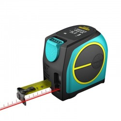 DT10 2-in-1 rangefinder laser with digital LCD display measuring tape