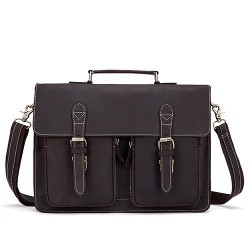 Men's genuine leather bag