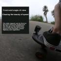 Skateboard motorcycle handlebar - rotated clamp mount - bracket holder for GoPro Hero Action Camera