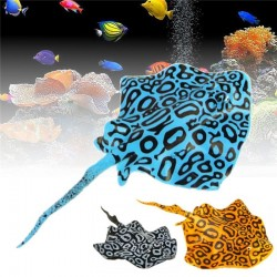 Aquarium decoration - glowing in the dark - silicone manta