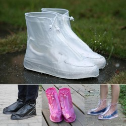 Rain protection reusable shoe covers - waterproof