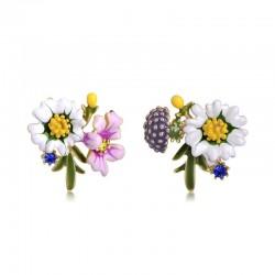 Small chrysanthemum stud earrings