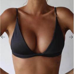 Sexy bikini bra with push up