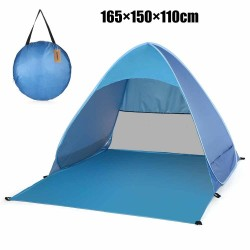 Automatic install beach & camping tent - UPF 50 - UV protection