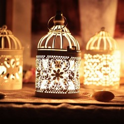Moroccan lantern - vintage hanging candle holder