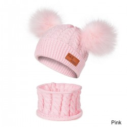 Kids wool hat & scarf - set 2 pieces
