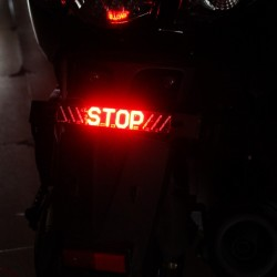 Motorcycle Led tail light - stop indicator - tape