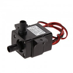 12V Mini micro ultra quiet brushless submersible water pump